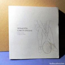 Arte: DONACION GARCIA VIÑOLAS COLECCIONES FUNDACION MAPFRE 2007 NUEVO ENVIO ASEGURADO 5 € PENINSULA. Lote 152864466