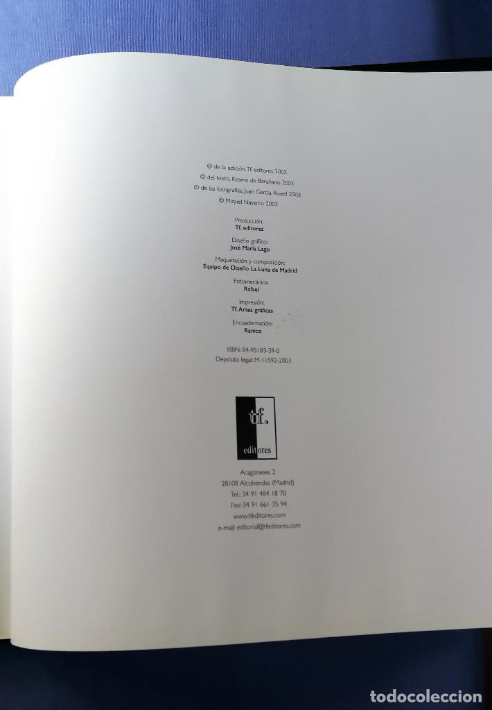 Arte: MIQUEL NAVARRO EL ARTISTA EN SU TALLER 2003 ENVIO ASEGURADO 5 € PENINSULA - Foto 5 - 152867326