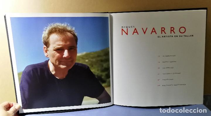 Arte: MIQUEL NAVARRO EL ARTISTA EN SU TALLER 2003 ENVIO ASEGURADO 5 € PENINSULA - Foto 6 - 152867326