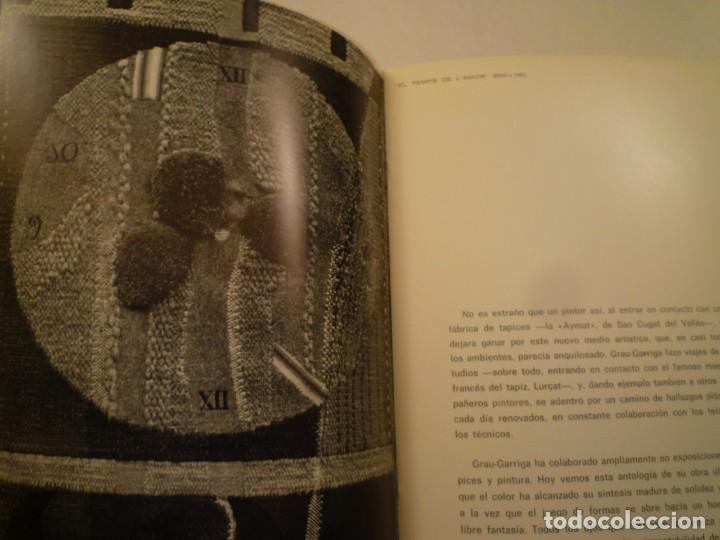 Arte: JOSEP GRAU-GARRIGA. PINTURES I TAPISSOS. MONESTIR DE SANT CUGAT. 1967 - Foto 5 - 153027170