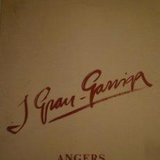 Arte: JOSEP GRAU-GARRIGA. ABBAYE DE RONCERAY. ANGERS. 1989. Lote 153030154