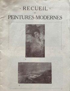 Recueil de Peintures Modernes