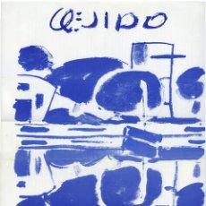 Arte: CARTEL EXPOSICIÓN MANOLO QUEJIDO, GALERÍA LAGUADA, GRANADA 1980.. Lote 153066418