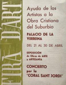 1961 Programa Fira d'art