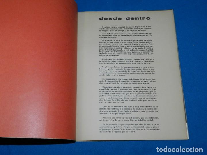 Arte: (M) LIBRO GRUPO HONDO , GENOVES - JARDIEL - MIGNONI - ORELLANA , NUEVA FIGURACION 1961 - Foto 3 - 153365282