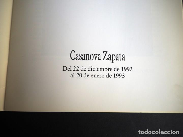 Arte: CASANOVA ZAPATA. CATALOGO EXPOSICION GALERIA RAYUELA. DICIEMBRE 1992. - Foto 3 - 153710466