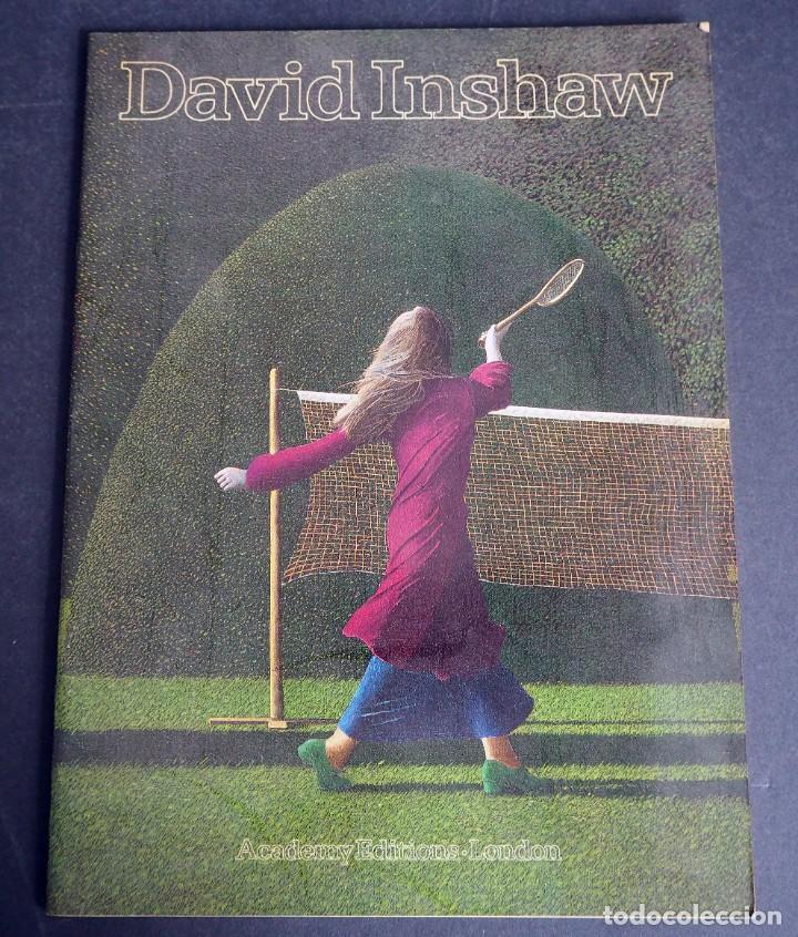 DAVID INSHAW. CATALOGO. EXPOSICION DEL BRIGHTON MUSEUM & ART GALLERY.1978. (Arte - Catálogos)