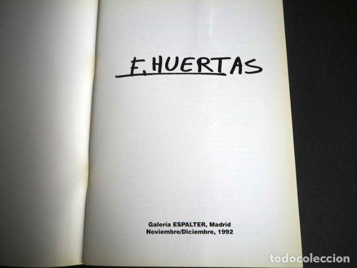 Arte: ESPERANZA HUERTAS. CATALOGO. GALERIA ESPALTER MAJADAHONDA. 1992. - Foto 2 - 153808294