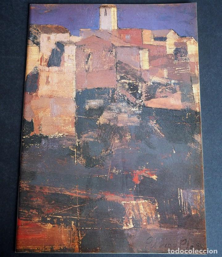 PELLICER PLA. CATALOGO. GALERIA ESPALTER MAJADAHONDA. NOVIEMBRE 1993. (Arte - Catálogos)