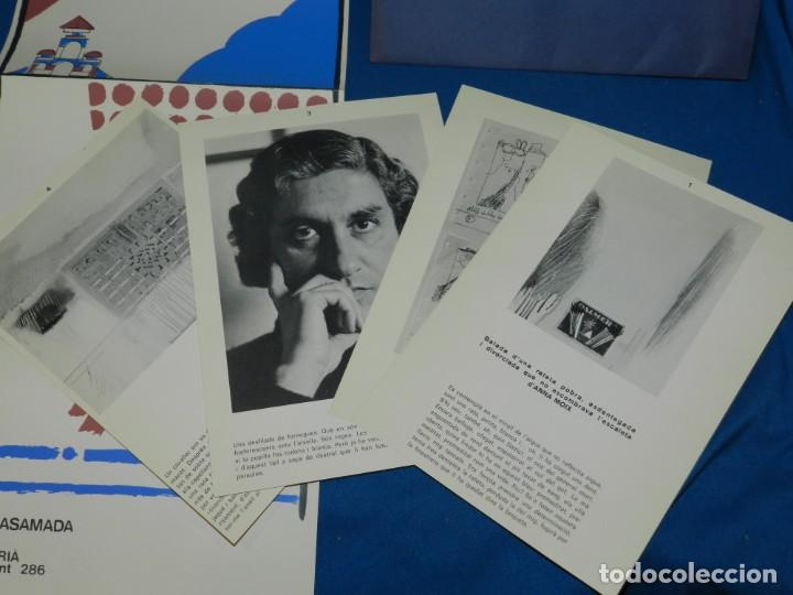 Arte: (M) ALBERT RAFOLS CASAMADA - GALERIA ADRIA , BARCELONA 1972 , CARTEL + PAG. - Foto 3 - 153841814