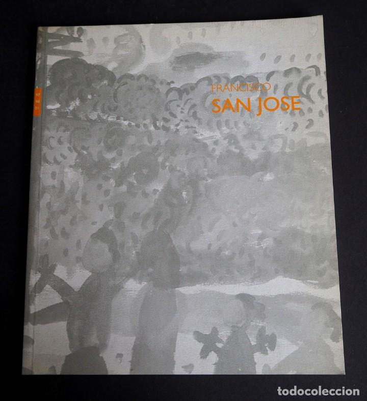 FRANCISCO SAN JOSE. CATALOGO. GALERIA ANGELES PENCHE.DIBUJOS Y ACUARELAS. 1998. (Arte - Catálogos)