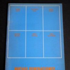 Arte: NUEVAS GENERACIONES. 6 DE LOS 60. CATALOGO GALERIA ESPALTER. DICIEMBRE 1991.. Lote 153936778