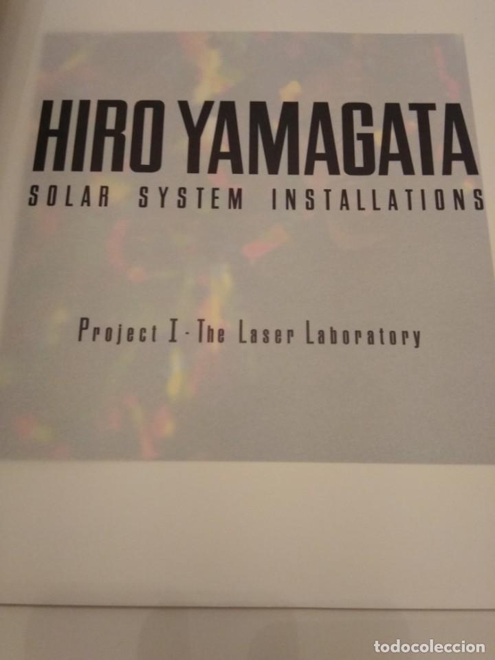 HIRO YAMAGATA SOLAR SYSTEM INSTALLATIONS (Arte - Catálogos)