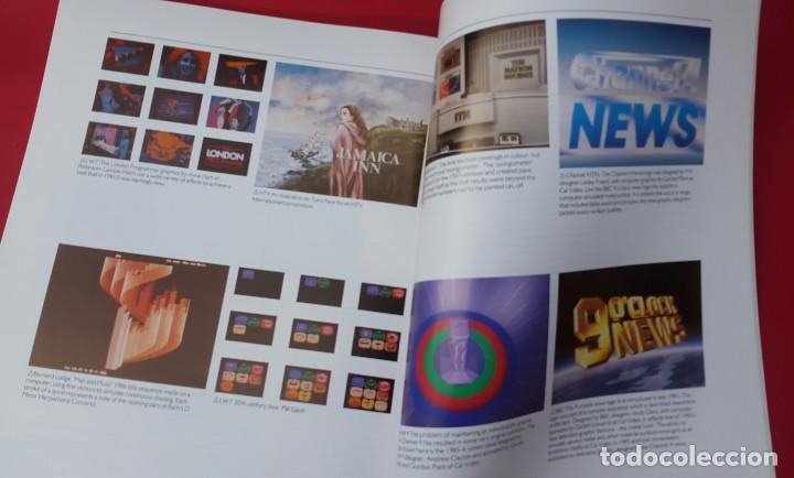 Arte: TELEVISIÓN GRÁFICOS - THE CHANGING IMAGE - CATÁLOGO DE GEOFFREY CROOK - 1986 - Foto 5 - 154746286