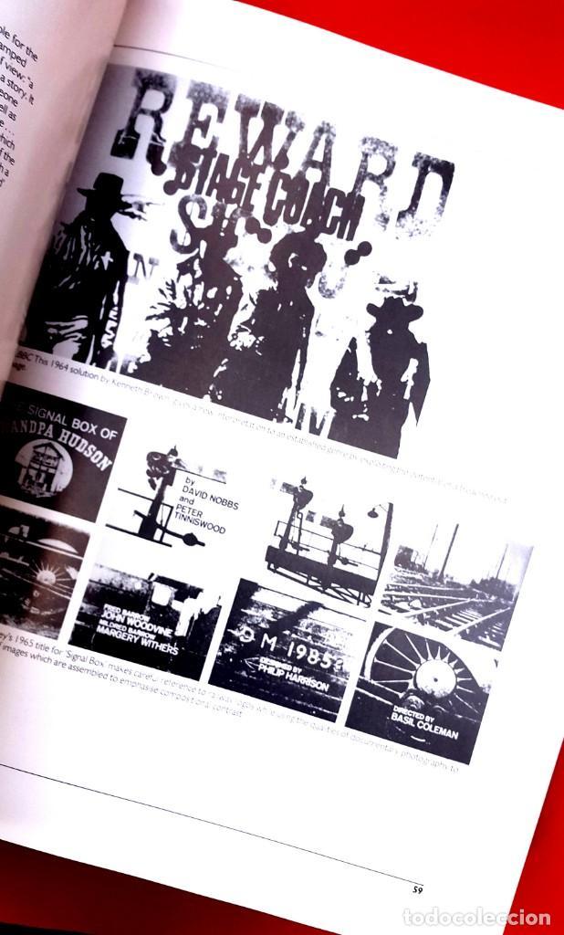 Arte: TELEVISIÓN GRÁFICOS - THE CHANGING IMAGE - CATÁLOGO DE GEOFFREY CROOK - 1986 - Foto 8 - 154746286