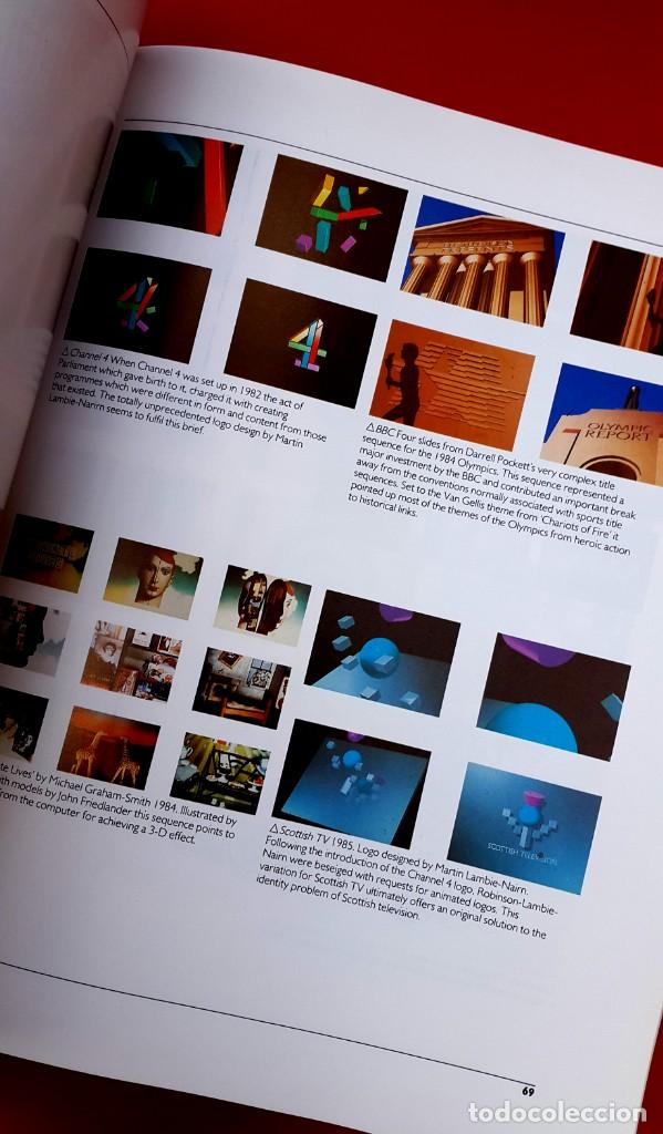 Arte: TELEVISIÓN GRÁFICOS - THE CHANGING IMAGE - CATÁLOGO DE GEOFFREY CROOK - 1986 - Foto 9 - 154746286