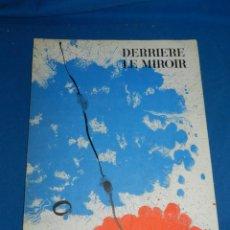 Arte: (M) DERRIERE LE MIROIR - PEINTURES MURALES JOAN MIRO 1961 MAEGHT EDITEUR NUM 128. Lote 154821498