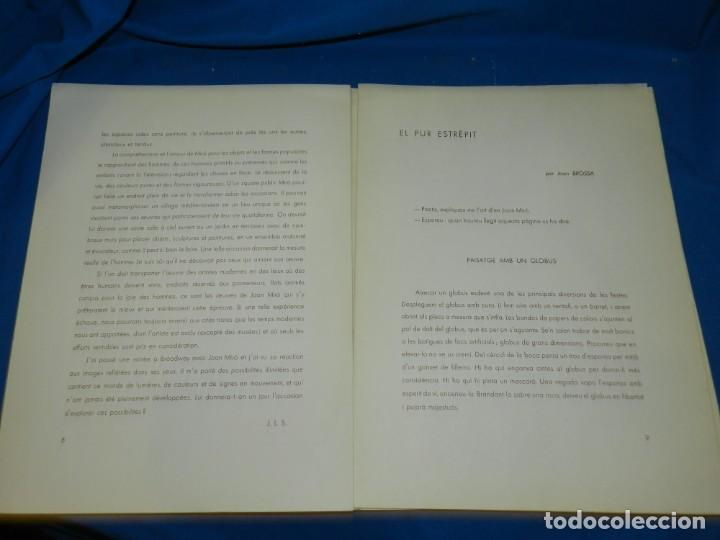 Arte: (M) DERRIERE LE MIROIR - PEINTURES MURALES JOAN MIRO 1961 MAEGHT EDITEUR NUM 128 - Foto 5 - 154821498