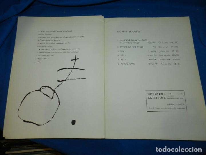 Arte: (M) DERRIERE LE MIROIR - PEINTURES MURALES JOAN MIRO 1961 MAEGHT EDITEUR NUM 128 - Foto 7 - 154821498