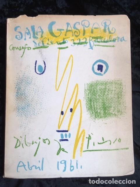 PICASSO - DIBUJOS - GOUACHES - ACUARELAS - SALA GASPAR 1961 (Arte - Catálogos)