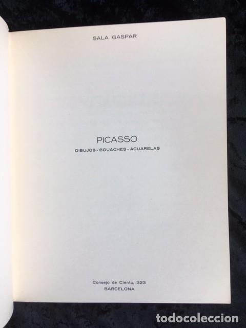 Arte: PICASSO - DIBUJOS - GOUACHES - ACUARELAS - SALA GASPAR 1961 - Foto 3 - 154838522