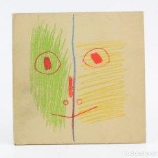 Arte: CATÁLOGO PICASSO PEINTURES 1955 - 1956, GALERIE LOUISE LEIRIS, 1957, PARIS. 17X17CM. Lote 154921482