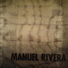 Arte: MANUEL RIVERA. LOS ESPEJOS. PIERRE MATISSE GALLERY. NEW YORK. 1966. Lote 155210882