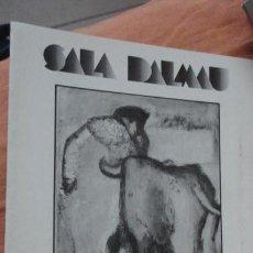 Arte: DIPTICO.EXPOSICION JUAN ALCALDE.SALA DALMAU BARCELONA 1986. Lote 155417926