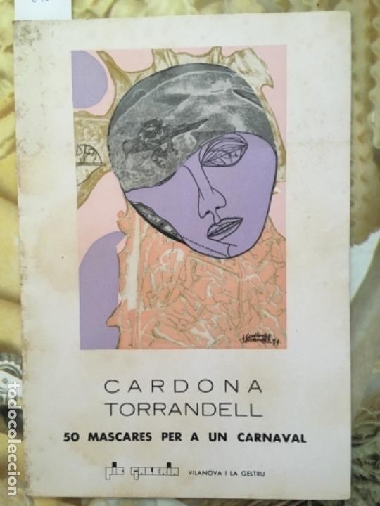 CATALOGO CARDONA TORRANDELL, 1974, GALERIA PIC (Arte - Catálogos)