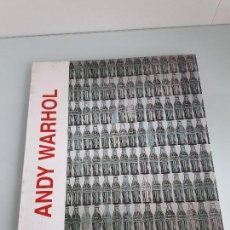 Arte: ANDY WARHOL - EXPOSICIÓN SALA PROVINCIA - LEÓN - 1997. Lote 155457070