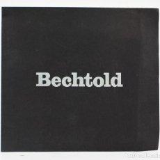 Arte: CATÁLOGO BECHTOLD, BILDER UND ZEICHNUNGEN, 1972, GALERIE FRENZEL, GALERIE REGIO. 23X21CM. Lote 156036766
