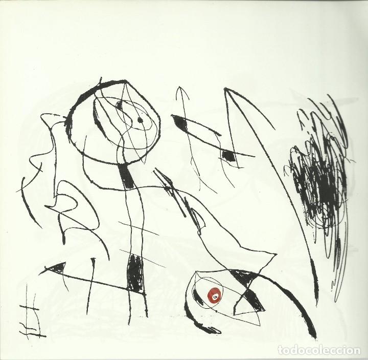Arte: Miro , Sala pelaires,Mallorca 1973, 9 dibujos. Carpeta sin encuadernar para disponer de los dibujos - Foto 5 - 145982446