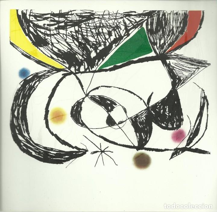 Arte: Miro , Sala pelaires,Mallorca 1973, 9 dibujos. Carpeta sin encuadernar para disponer de los dibujos - Foto 6 - 145982446