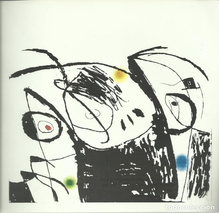 Arte: Miro , Sala pelaires,Mallorca 1973, 9 dibujos. Carpeta sin encuadernar para disponer de los dibujos - Foto 8 - 145982446