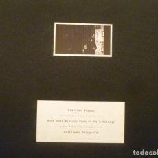 Arte: FRANCESC TORRES. LIBRO DE ARTISTA. WHAT DOES HISTORY KNOW OF NAIL-BITING? 2016. EJEMPLAR 270. . Lote 156838670