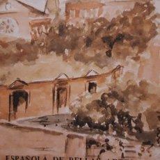 Arte: 1 CATALOGO DE ** ACADEMIA DE B. ARTES EN ROMA ** 1873 . 1973 FOTOS B/N.. Lote 157366274