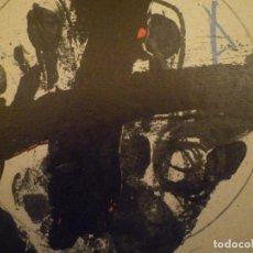 Arte: ANTONI TÀPIES. JOAN BROSSA. U NO ÉS NINGÚ. INVITACIÓN. GALERIA JOAN PRATS. 1979. Lote 157401778