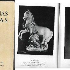 Arte: CATÁLOGO * PORCELANAS ANTIGUAS * GRIFÉ ESCODA 1956. Lote 157819558
