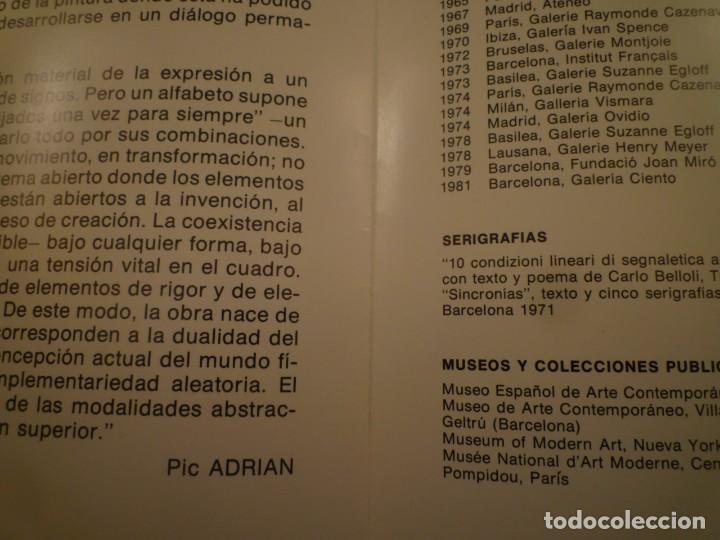 Arte: PIC ADRIAN. DÍPTICO. PINTURAS. GALERIA CIENTO. 1981 - Foto 2 - 157950874