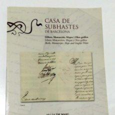Arte: CASA DE SUBHASTES DE BARCELONA. MAYO 2002.. Lote 157969558