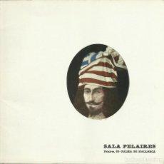 Arte: CARLOS MENSA, SALA PELAIRES, 1972 , CON PRÓLOGO DE VARGAS LLOSA. Lote 158603238