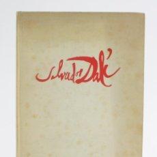 Arte: MENTIRA Y VERDAD DE SALVADOR DALÍ, A. ORIOL ANGUERA, 1948, EDICIONES COBALTO, BARCELONA. 25X18CM. Lote 158643694
