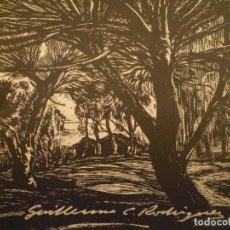 Arte: GUILLERMO C. RODRIGUEZ. INTENDENCIA MUNICIPAL. MONTEVIDEO. 1981. Lote 158777454