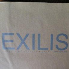 Arte: EXILIS. JAUME SIMÓ SABATER I GARAU. OBRES 1997 - 2008. AJUNTAMENT DE PALMA DE MALLORCA. Lote 159824662