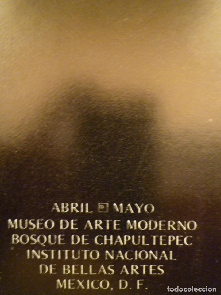 Arte: ROBERT MOTHERWELL. RETROSPECTIVA. MUSEO ARTE MODERNO. MEXICO. C.1975. + 7 FOTOGRAFÍAS. - Foto 2 - 160184414