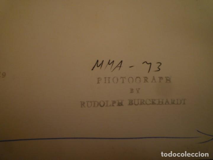Arte: ROBERT MOTHERWELL. RETROSPECTIVA. MUSEO ARTE MODERNO. MEXICO. C.1975. + 7 FOTOGRAFÍAS. - Foto 13 - 160184414