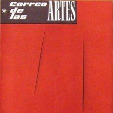 Arte: CORREO DE LAS ARTES. REVISTA Nº 27. SEPTIEMBRE 1960. PORTADA DE LUCIO FONTANA. GALERÍA RENÉ METRAS.. Lote 160416134