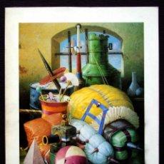 Arte: LUIS SAEZ. BURGOS. AÑO:1988. CASA DEL CORDÓN.. Lote 160842454