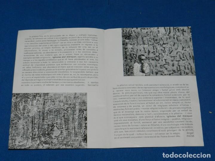 Arte: (M) CATALOGO IGLESIAS DEL MARQUET EXPOSA SALA D'ART BELLES ARTS SABADELL 1960 , SANTOS TORROELLA - Foto 2 - 160978158