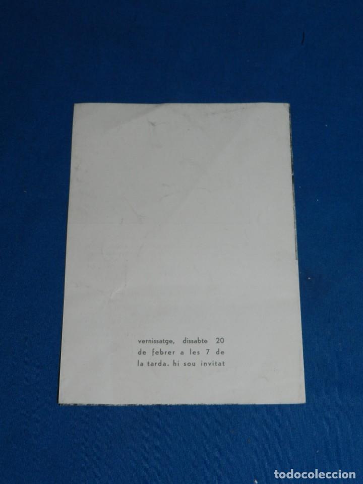 Arte: (M) CATALOGO IGLESIAS DEL MARQUET EXPOSA SALA D'ART BELLES ARTS SABADELL 1960 , SANTOS TORROELLA - Foto 3 - 160978158